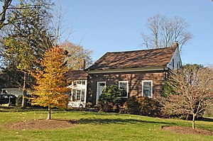 National Register of Historic Places listings in Bergen County, New Jersey - Image: ACKERMAN HOPPER HOUSE GLEN ROCK BERGEN COUNTY