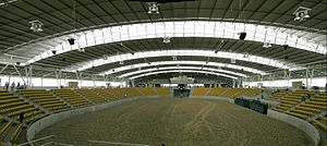 Australian Equine and Livestock Events Centre - The 40m x 80m AELEC indoor arena, Tamworth, NSW