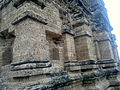 AMB Temples, three temples inside fort big temple side view niches etc.jpg