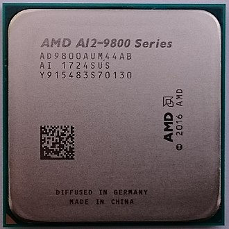 AMD Accelerated Processing Unit - AMD A12-9800 (Bristol Ridge)