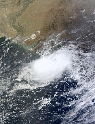 2011 North Indian Ocean cyclone season - Image: ARB 01 11 June 2011 MODIS