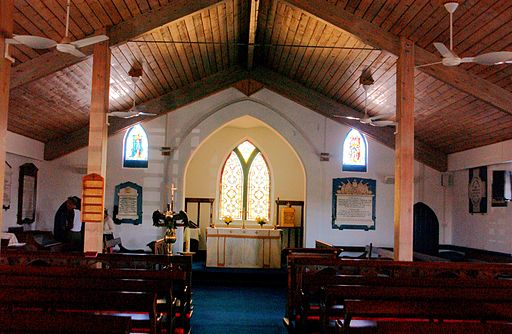 ASCENSION ISLAND - ST. MARY'S ANGLICAN CHURCH