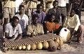 ASC Leiden - Coutinho Collection - G 14 - Life in Ziguinchor, Senegal - PAIGC boarding school band, Ziguinchor - 1973 - Balafon - Kora.tif