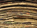 ASC Leiden - Library - South African newspaper stack of Die Burger - 2012.jpg