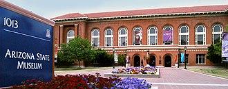 Arizona State Museum - Image: AS museum north