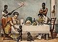A Brazilian family in Rio de Janeiro by Jean-Baptiste Debret 1839.jpg