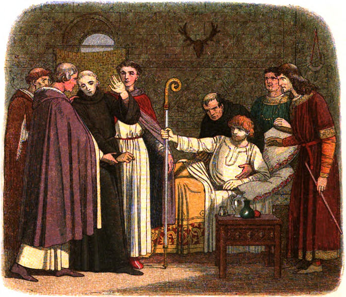 File:A Chronicle of England - Page 118 - Anselm Made Archbishop of Canterbury.jpg