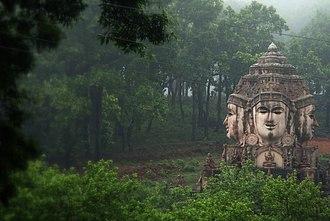 Matsya Purana - Image: A Hindu temple, Amarkantak Madhya Pradesh India