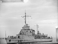 A Ship of Free France. 7 To 10 February 1943, Algiers. A16006.jpg