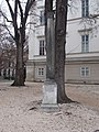 A column from the Roman Forum at the Hungarian National Museum, 2016 Budapest.jpg