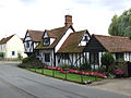 A cottage opposite the church at Easthorpe, Essex (2830192738).jpg