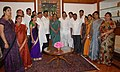 A delegation of members of Thane Zilla Parishad, Mumbai calls on the Speaker, Lok Sabha, Smt. Meira Kumar, in New Delhi on August 17, 2011.jpg
