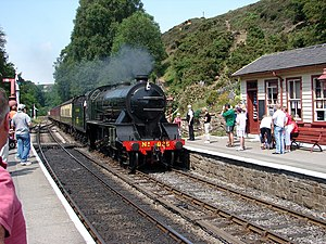 LSWR S15 class - Image: A long way from home geograph.org.uk 761062