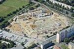 A stadion építése légi felvételen.jpg
