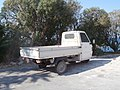 Abandoned three-wheeled Ape TM at Sunwing Kallithea Beach Hotel Rhodes 22 July 2016.jpg