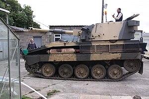 FV433 Abbot SPG - Image: Abbot tank spg
