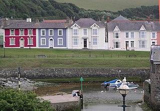Aberaeron Human settlement in Wales