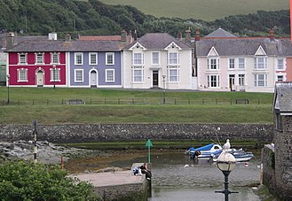 Aberaeron - Image: Aberaeron Houses