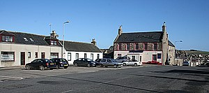 Aberchirder - Image: Aberchirder Square geograph.org.uk 706357