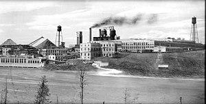 Abitibi Power and Paper Company - Abitibi mill at Iroquois Falls (1930)