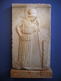 Acropole Musée Athéna pensante.JPG