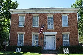 Adlai Stevenson I - Stevenson's home in Metamora