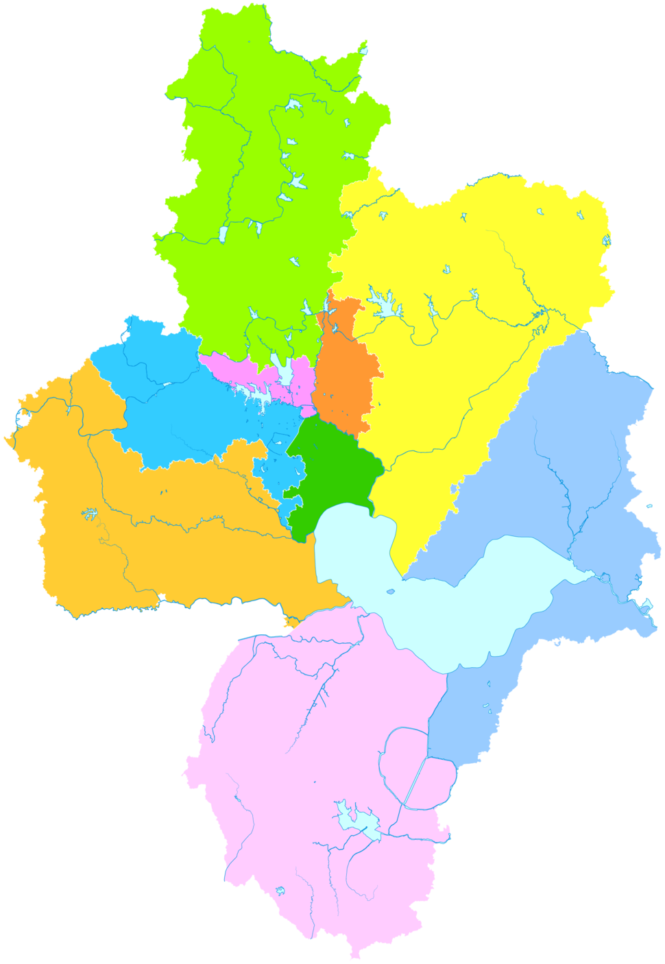 Administrative Division Hefei