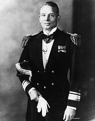 Emory S. Land - In this 1936 photo, Land wore the full dress uniform of Rear Admiral, while serving as Chief of the Bureau of Construction and Repair