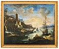 Adrien-manglard-zwei-mediterrane-seehäfen-mit-prächtiger-architektur-und-zahlreichen-schiffen-im-abendlicht.jpg