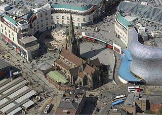 Bull Ring, Birmingham commercial area of Birmingham, England