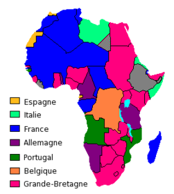 Map Of Colonial Africa | Jackenjuul