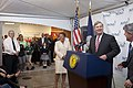 Agriculture Secretary Tom Vilsack speaks at the MMi Culinary Services in Kenner, LA on Wednesday, May 1, 2013 (Pic 2).jpg