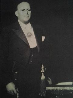 Agustín Pedro Justo President of Argentina