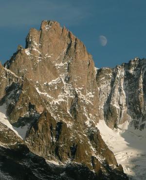 Aiguille de Leschaux - Image: Aiguille de Leschaux