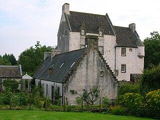 Barony of Aiket village in East Ayrshire, Scotland, UK