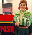 Aili Keskitalo med NSR lederklubbe.jpg