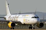 Airbus A320-214 Vueling EC-JZQ 50 million pasengers sticks.jpg