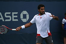 Aisam-ul-Haq Qureshi at the 2010 US Open 01.jpg