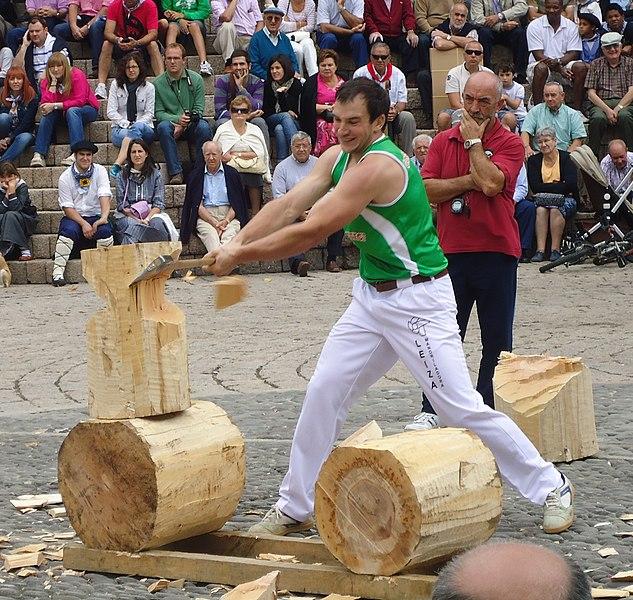 Deporte rural en navarra cita con la tradici n y la - Arboles pais vasco ...