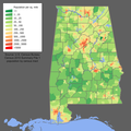 Alabama population map.png