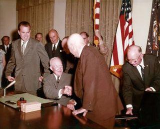 Alaska Statehood Act a public law enacted July 7, 1958