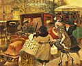 Albert Guillaume - Three Parisiennes Compete for a Cab, But Which Will the Cabbie Favour.jpg