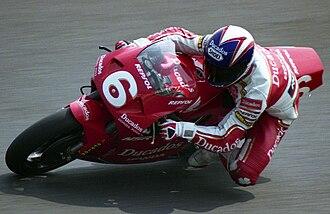 Alberto Puig - Puig at the 1993 Japanese Grand Prix.