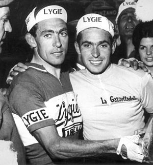 Enzo Moser - Aldo and Enzo Moser (right) in 1964