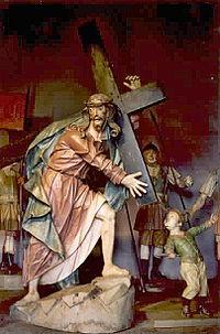 Ponto culminante na escultura barroca brasileira, o Senhor dos Passos no Santu�rio de Bom Jesus de Matosinhos, do Aleijadinho