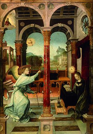 Alejo Fernández - Annunciation.