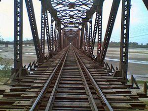 Gujrat City - Alexendria bridge in Chenab River Gujrat