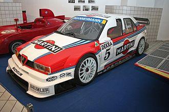 Class 1 Touring Cars - Image: Alfa 155 DTM