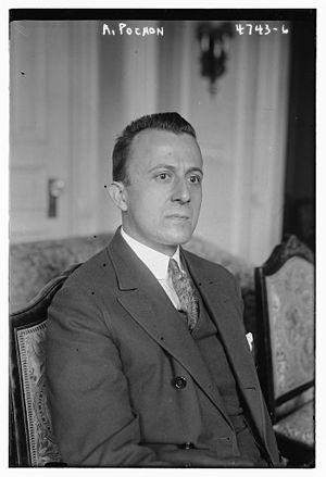 Alfred Pochon - Image: Alfred Pochon (1878 1959) in 1918