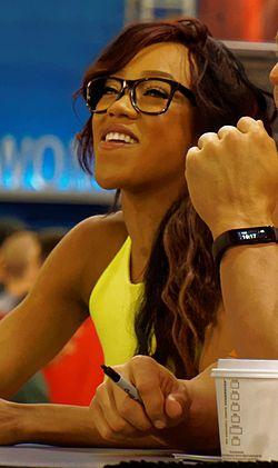 Alicia WrestleMania Axxess 2015.jpg